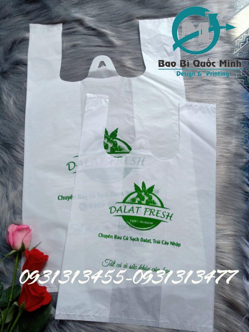 In ấn túi xốp hi quai giá rẻ tại In Bao Bì Quốc Minh
