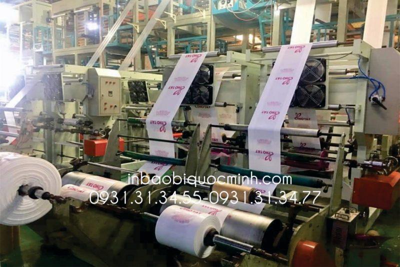 in ấn bao bì bằng ống đồng