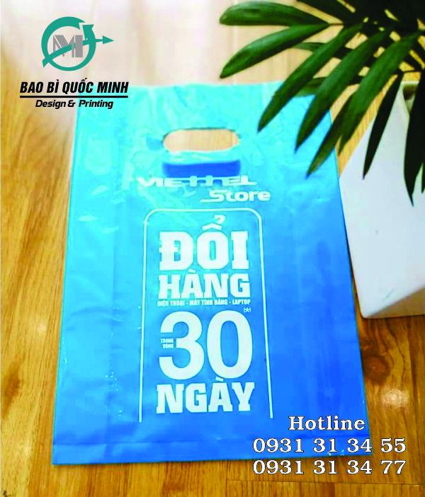 Chuyên cung cấp, in ấn túi nilon các cửa hàng điện thoại HCM