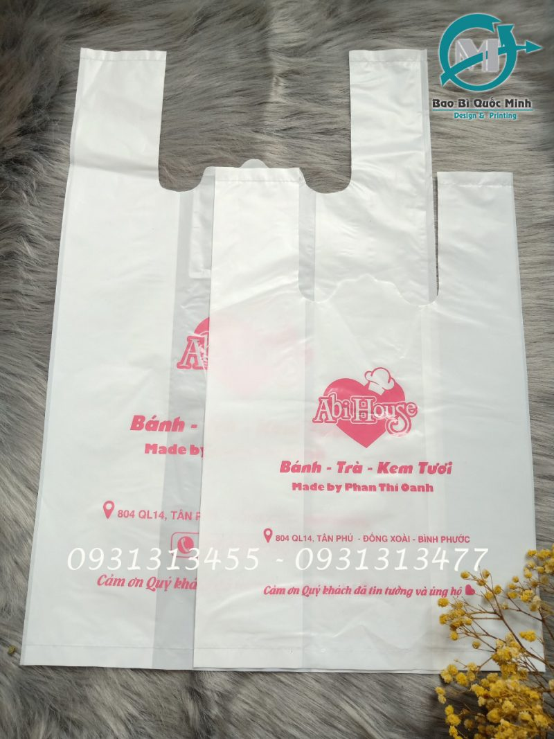 Mẫu mã túi xốp hàng chợ được ưa chuộng