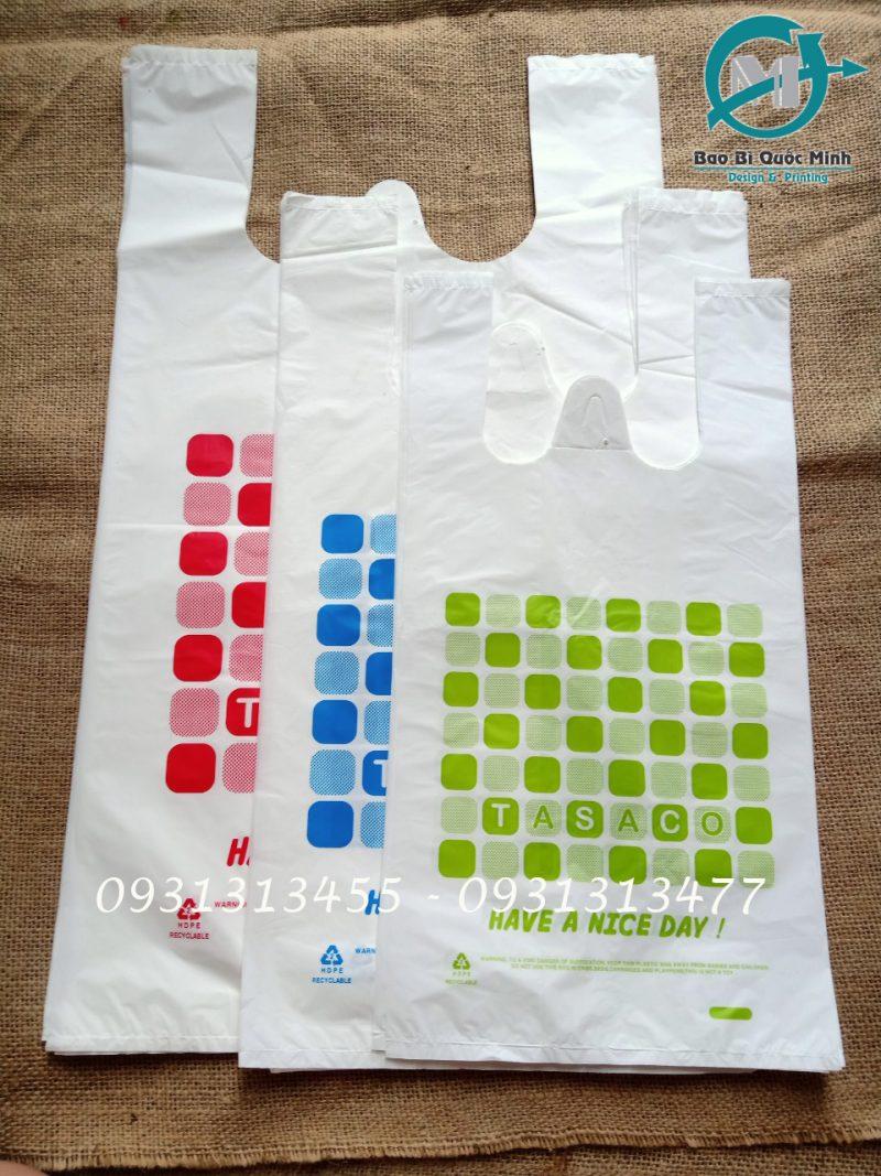 Kích thước thông dụng của túi xốp hàng chợ