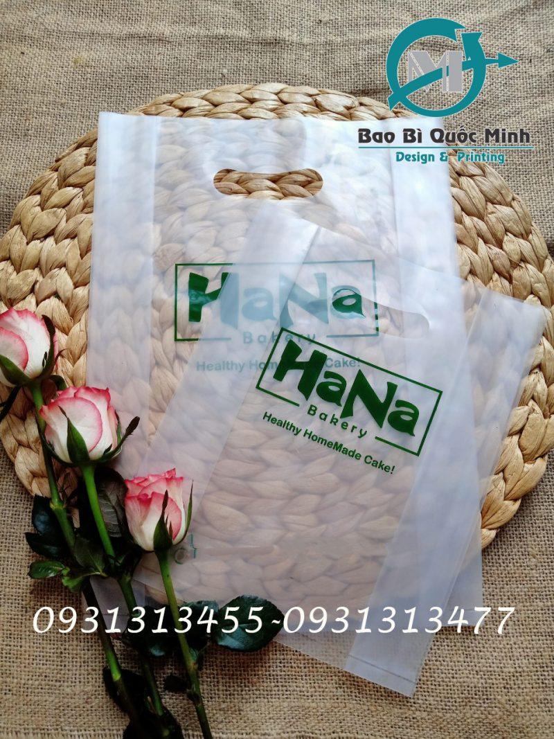 Túi nilong trong suốt in ấn giá rẻ
