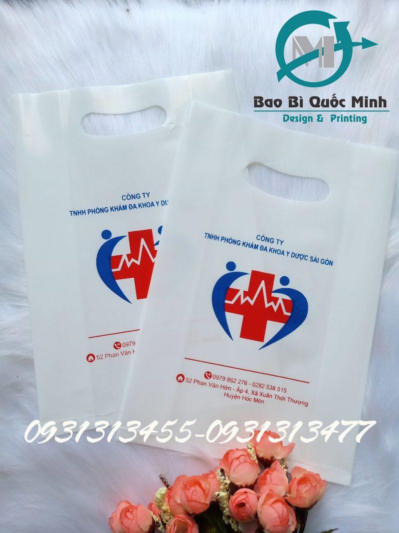 In túi ni lông chất lượng, mẫu mã đẹp tại Tân Phú