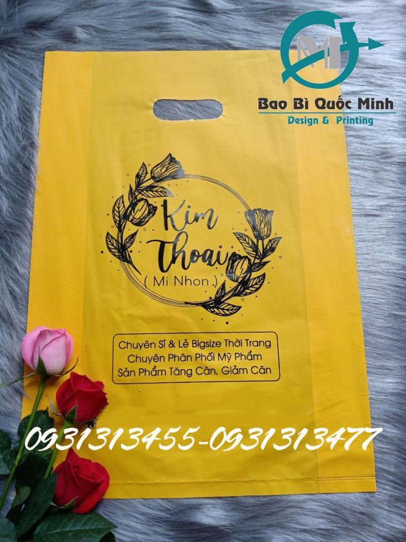Mẫu túi ni lông in ấn tại Tân Phú đẹp, chất lượng